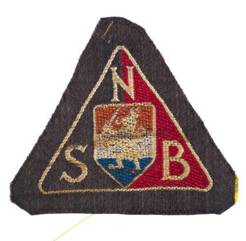 NSB machine woven arm badge