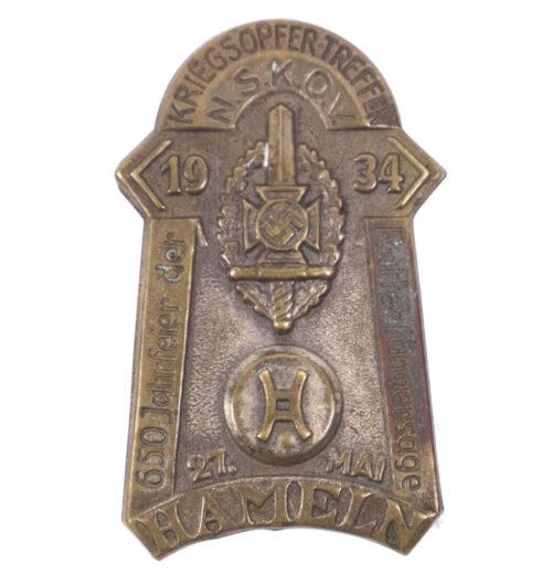 NSKOV Kriegsopfer-Treffen Hameln 1934