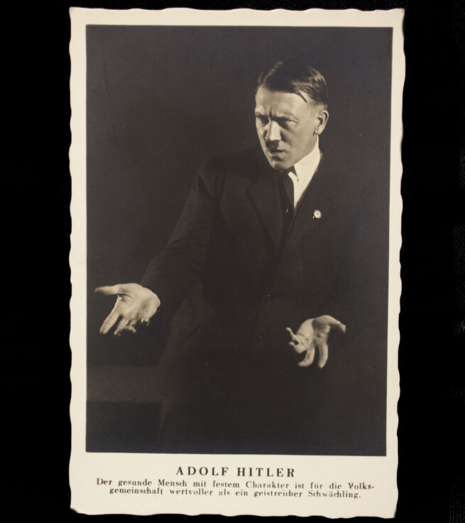 (Postcard) Adolf Hitler Der gesunde Mench...