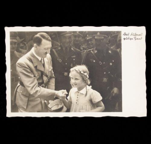 (Postcard) Adolf Hitler Des Führers Gütige Hand