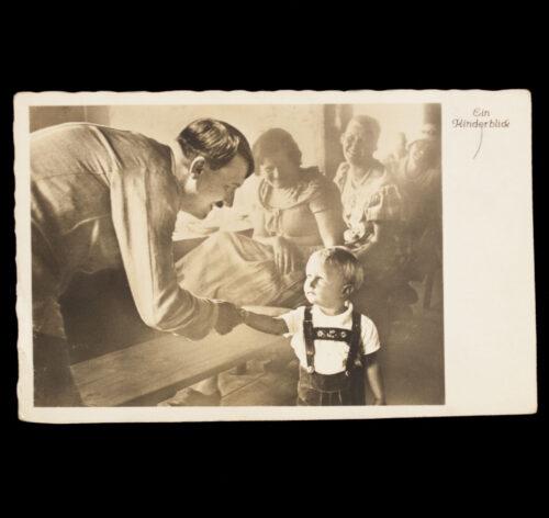 (Postcard) Adolf Hitler Ein kinderblick