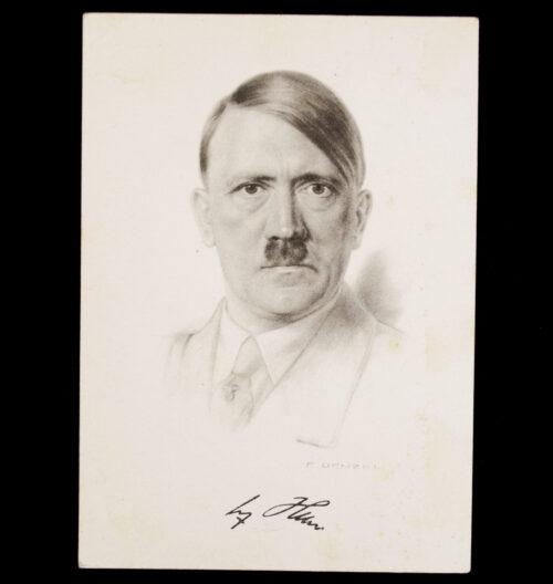 (Postcard) Adolf Hitler NSG Kraft durch Freude