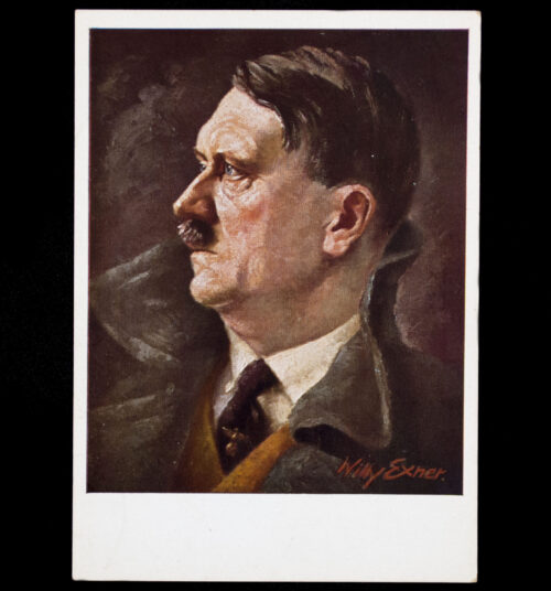 (Postcard) Adolf Hitler (after painting by Willy Exner)