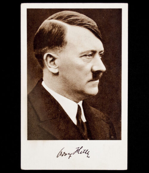 (Postcard) Adolf Hitler, sent to Den Haag 1938