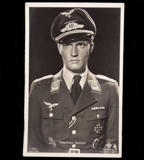 (Postcard) Hannes Stelzer (Luftwaffe)