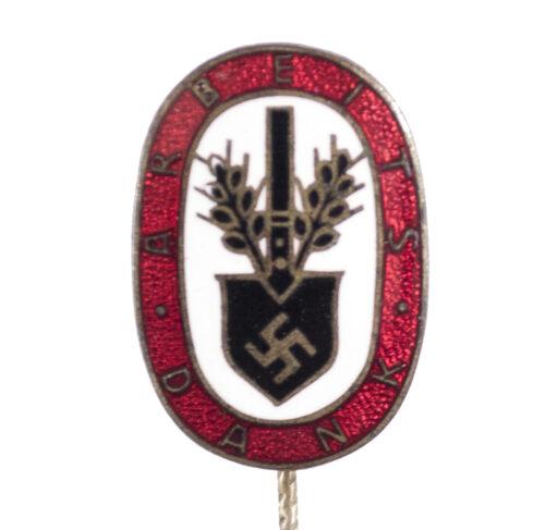 (RAD) Reichsarbeitsdienst – Arbeitsdank badge stickpin