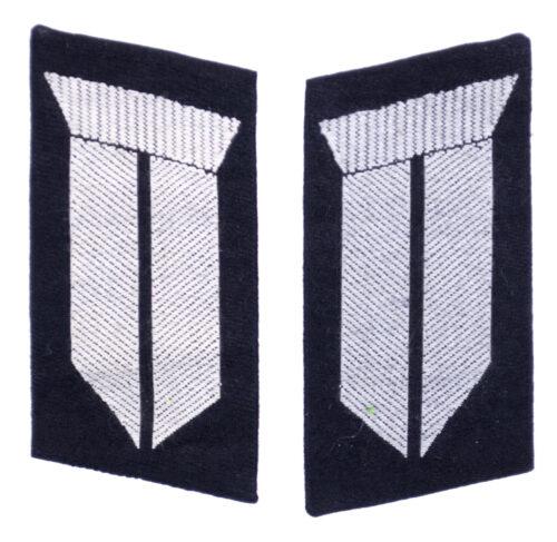 Reichsarbeitsdienst (RAD) Paar Kragenspiegel für Truppführer und Obertruppführer (model 1943)