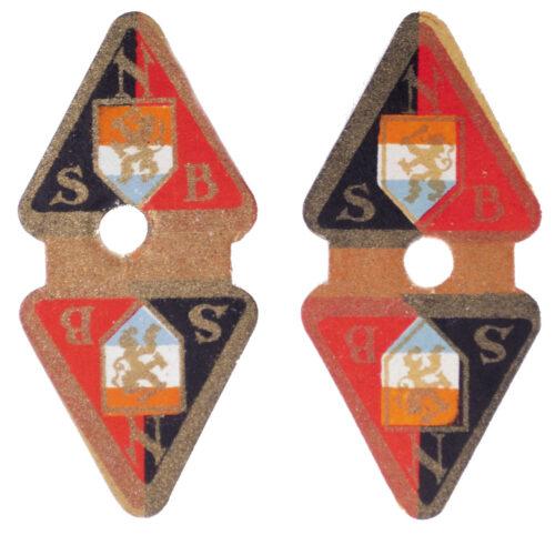 Twee NSB Sluitzegels Two NSB Letterseals