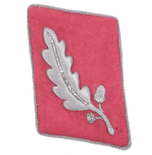WW2 pink SA Standartenführer collar tab