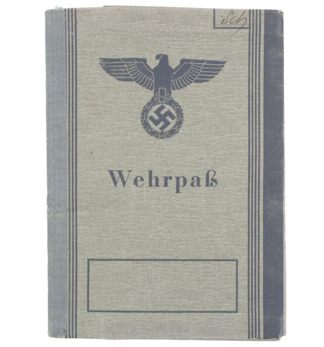 Wehrpass second type (MINTY!)