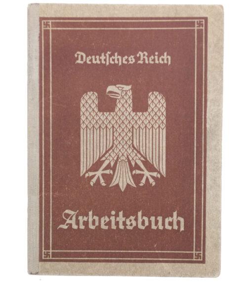 Arbeitsbuch Arbeitsamt Berlin-Mitte (Siemens-Schuckertwerke)