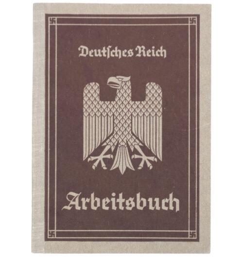 Arbeitsbuch first type, Arbeitsamt Stuttgart