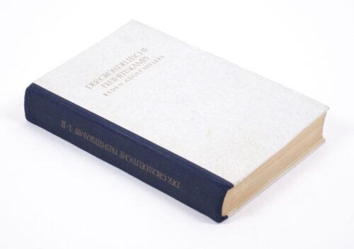 (Book) Der Grossdeutsche Freiheitskampf. Reden Adolf Hitlers (Band I und II in einem Band)