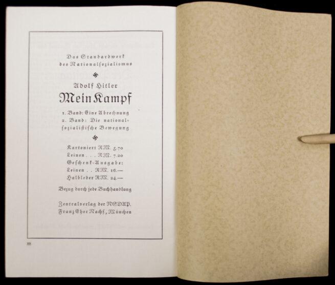 (Book) Die Reden Hitlers am Reichsparteitag der Freiheit (1935)
