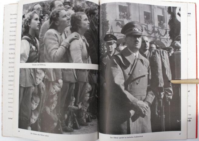 (Book) Hitler befreit Sudetenland (original Heinrich Hoffmann photobook)