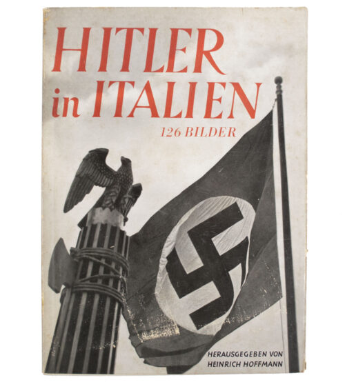 (Book) Hitler in Italien (original Heinrich Hoffmann photobook)