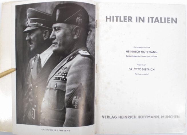 (Book) Hitler in Italien (original Heinrich Hoffmann photobook)