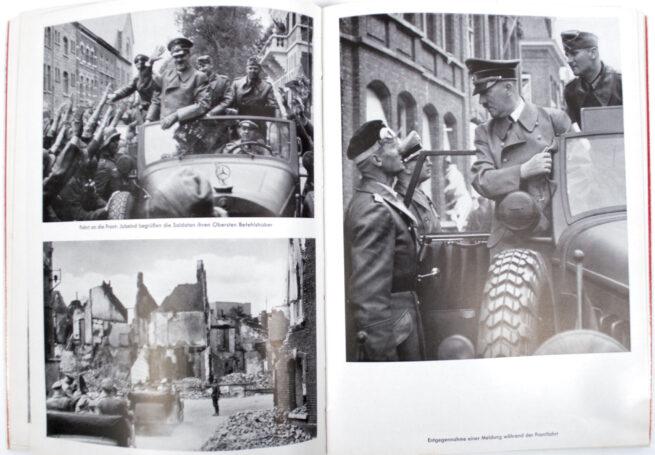 (Book) Mit Hitler im Westen (original Heinrich Hoffmann photobook)
