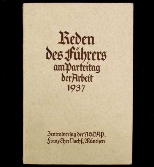 (Brochure) Die Reden Hitlers am Reichsparteitag der Arbeit (1937)