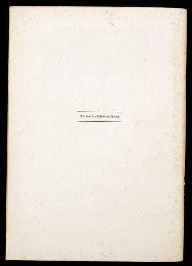 (Brochure) Rede des Führers vor dem 1. Grossdeutschen Reichstag (1939)