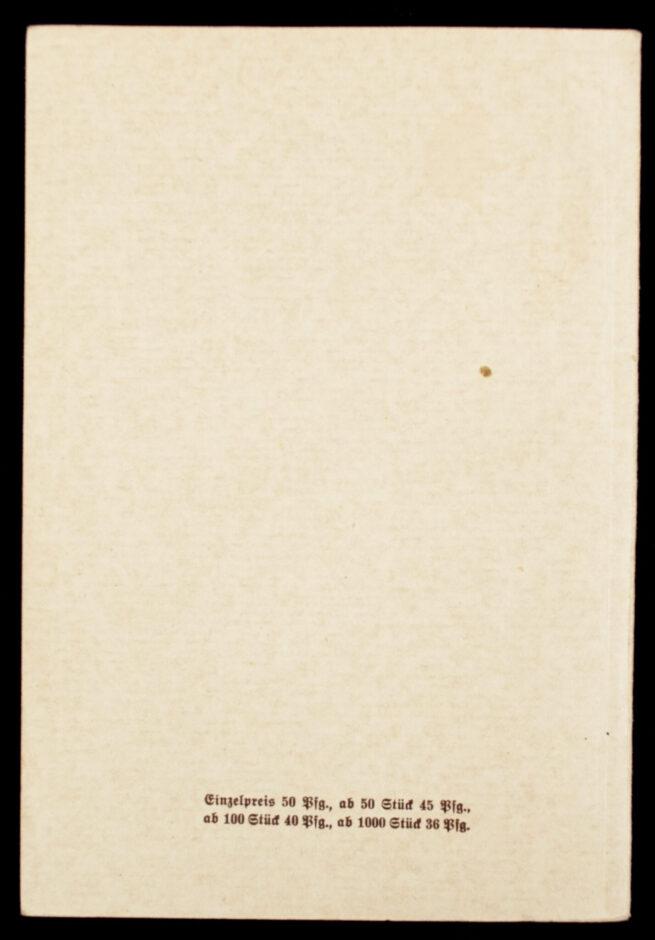 (Brochure) Reden des Führers am Reichsparteitag Grossdeutschland (1938)