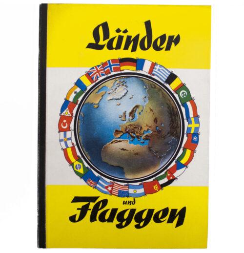 Cigarette picture album Länder und Flaggen