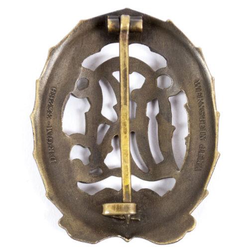 DRL Sportabzeichen in bronze (maker Wernstein)
