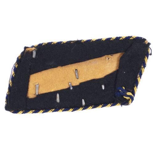 Deutsche Reichsbahn single officer collar tab