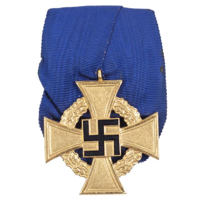 Einzelspange Treue Dienst 40 Jahre Single mount Loyal service 40 years cross