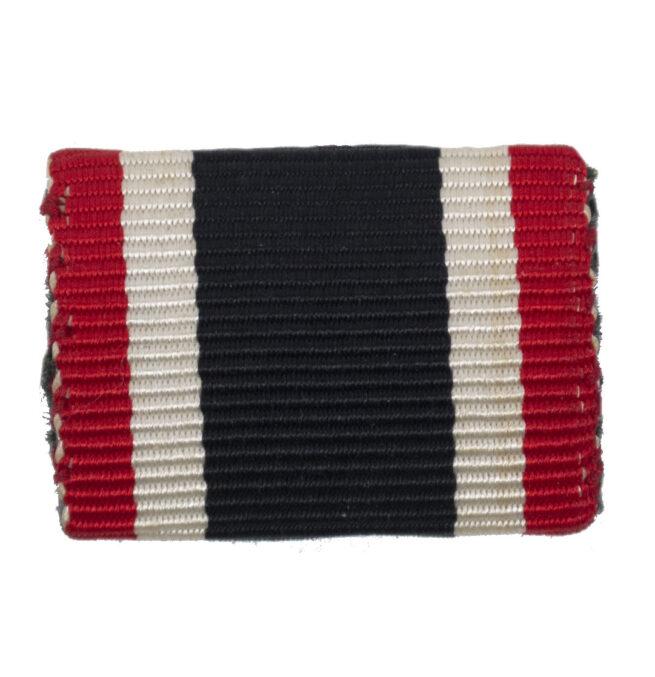 Feldspange Kriegsverdienstkreuz ohne Schwerter Ribbonbar War Merit Cross without Swords