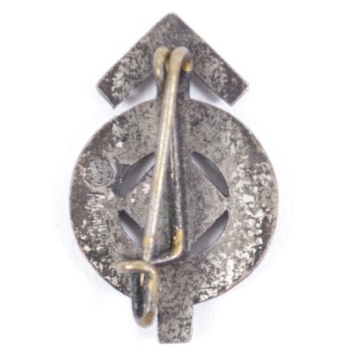 Hitlerjugend (HJ) Miniature Leistungsabzeichen in silver