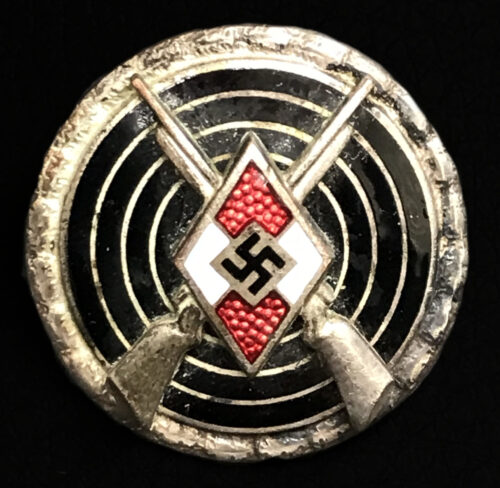 Hitlerjugend (HJ) Scharfschützen Schießauszeichnung (Maker M163)