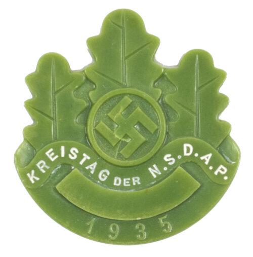 Kreistag der N.S.D.A.P. 1935 abzeichen