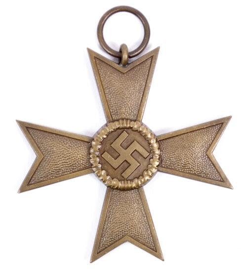 Kriegsverdienstkreuz ohne Schwerter mit tüte War Merit Cross without swords (By maker Wiedmann)