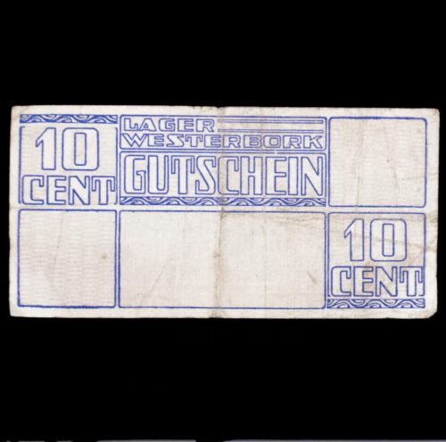 Lager Westerbork Gutschein 10 Cent (money bill)