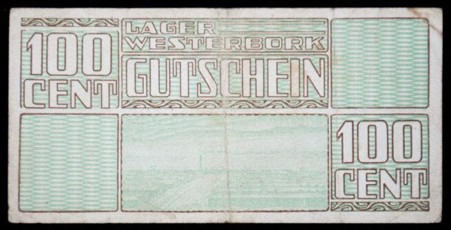 Lager Westerbork Gutschein 100 Cent (money bill)