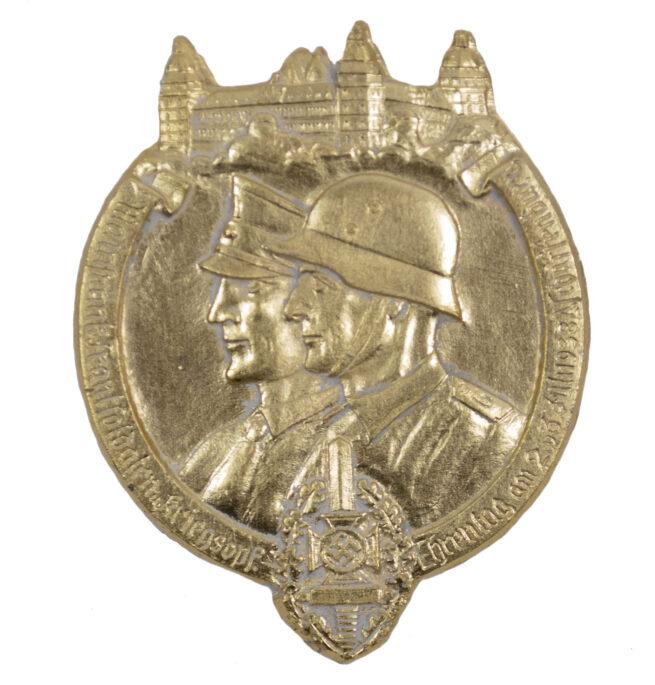 Mainfränkische Frontsoldaten und Kriegsopfer Ehrentag badge (2-3.7.1938)