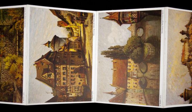 Nürnberg die Stadt der Reichsparteitage - Ein Album mit den feinsten Künstlerpostkarten