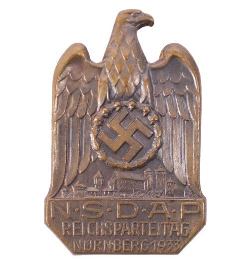 NSDAP Reichsparteitag Nürnberg 1933 abzeichen (massive)