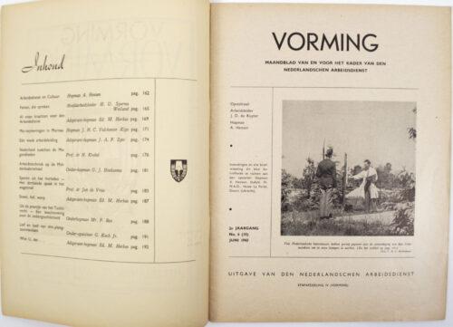 Nederlandsche Arbeidsdienst (NAD) Vorming 2e Jrg. - No.6 (1943)