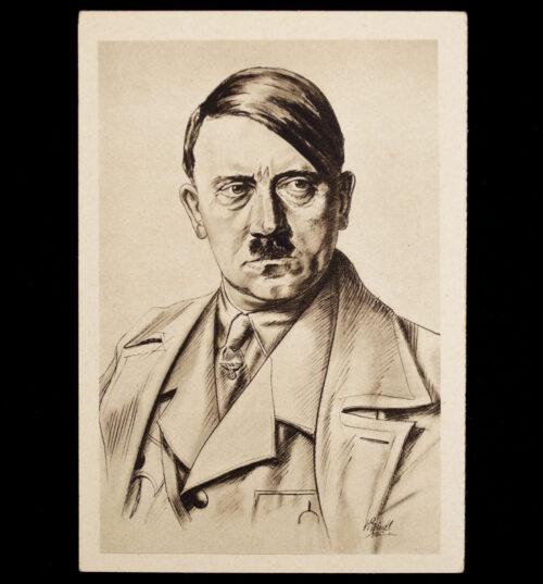 (Postcard) Der Führer Adolf Hitler (WHW 193334)