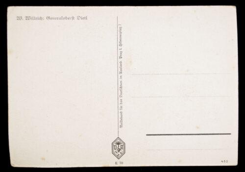 (Postcard) Generaloberst Dietl