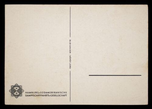 (Postcard) NS-Gemeinschaft Kraft durch Freude 49. Seereise Monte Olivia