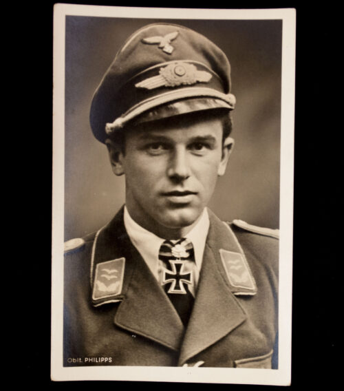 (Postcard) Ritterkreuz Träger OBLT Philipps