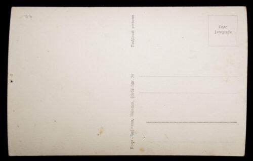 (Postcard) Ritterkreuz mit Eichenlaub Träger Oberst Galland