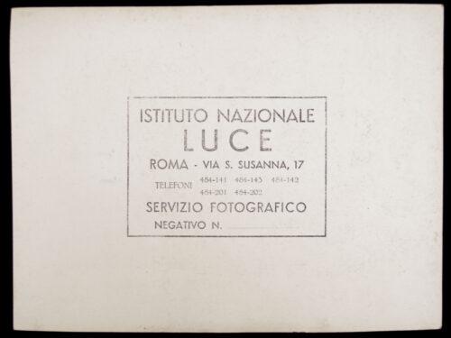 Pressphoto Mussolini (by Instituto Nazionale LUCE)