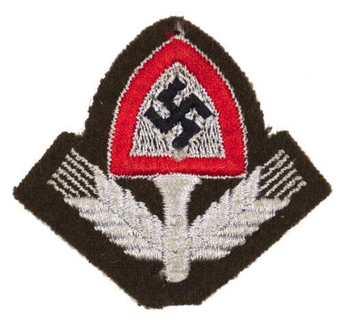 Reichsarbeitsdienst (RAD) cap insignia