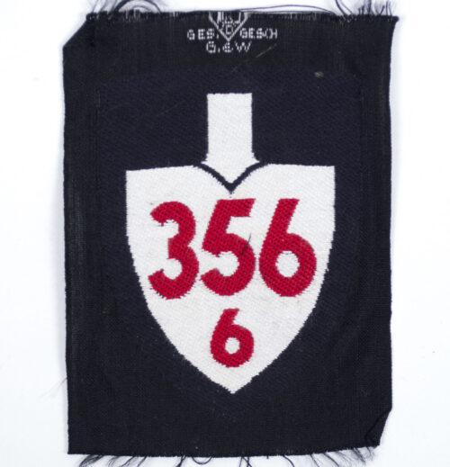 Reichsarbeitsdienst (RAD) shoulder unit patch 3566
