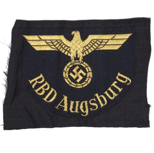 Reichsbahn sleeve insignia RBD Augsburg