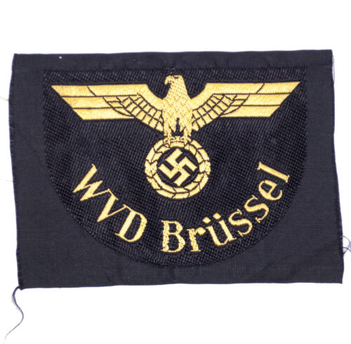 Reichsbahn sleeve insignia WVD Brussel